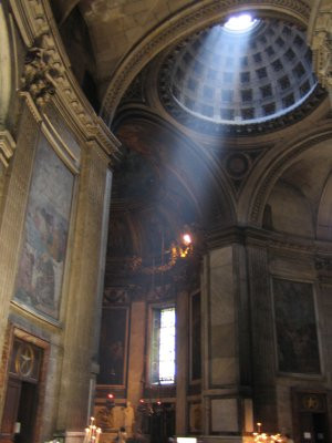 Light ray in st. Sulpice Church